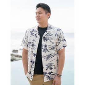 【Kahiko】サンサメンズアロハシャツ ホワイト