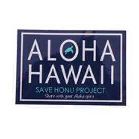 【Kahiko】~SAVE HONU PROJECT~アロハチャリティーステッカー ネイビー