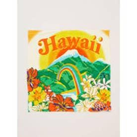 【kahiko】レインボーハワイバンダナ オレンジ