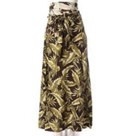 【Kahiko】リチャードサッシュスカート ワンピース WAY カーキ