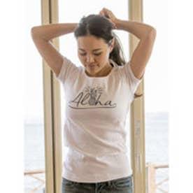 【Kahiko】AlohaパインTシャツ Lサイズ ホワイト