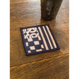 【カヤ】藍色小紋コースター その他2