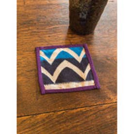 【カヤ】藍色小紋コースター その他3