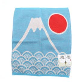 【カヤ】富士山腹巻き Lサイズ ブルー