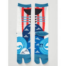 【カヤ】にっぽん昔ばなし足袋 一寸法師 25?28cm ブルー系その他
