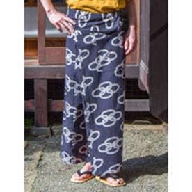 【カヤ】福紋メンズ巻きパンツ ブラック