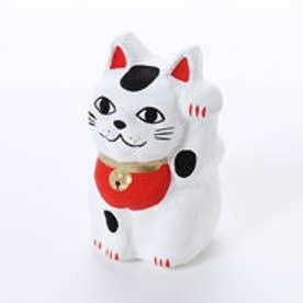 【カヤ】豆招き猫 無地 ホワイト