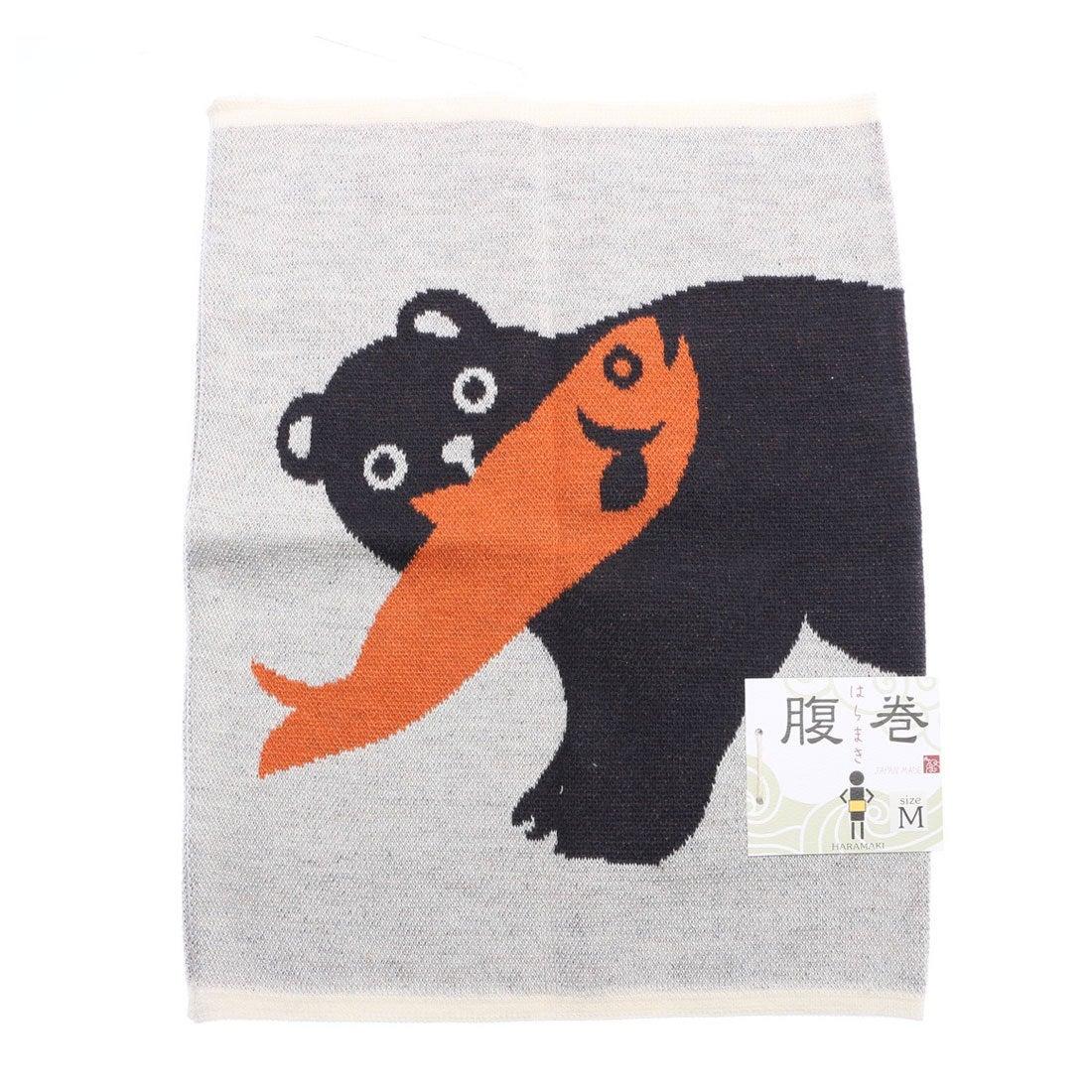 【カヤ】木彫り熊腹巻き Mサイズ アニマル