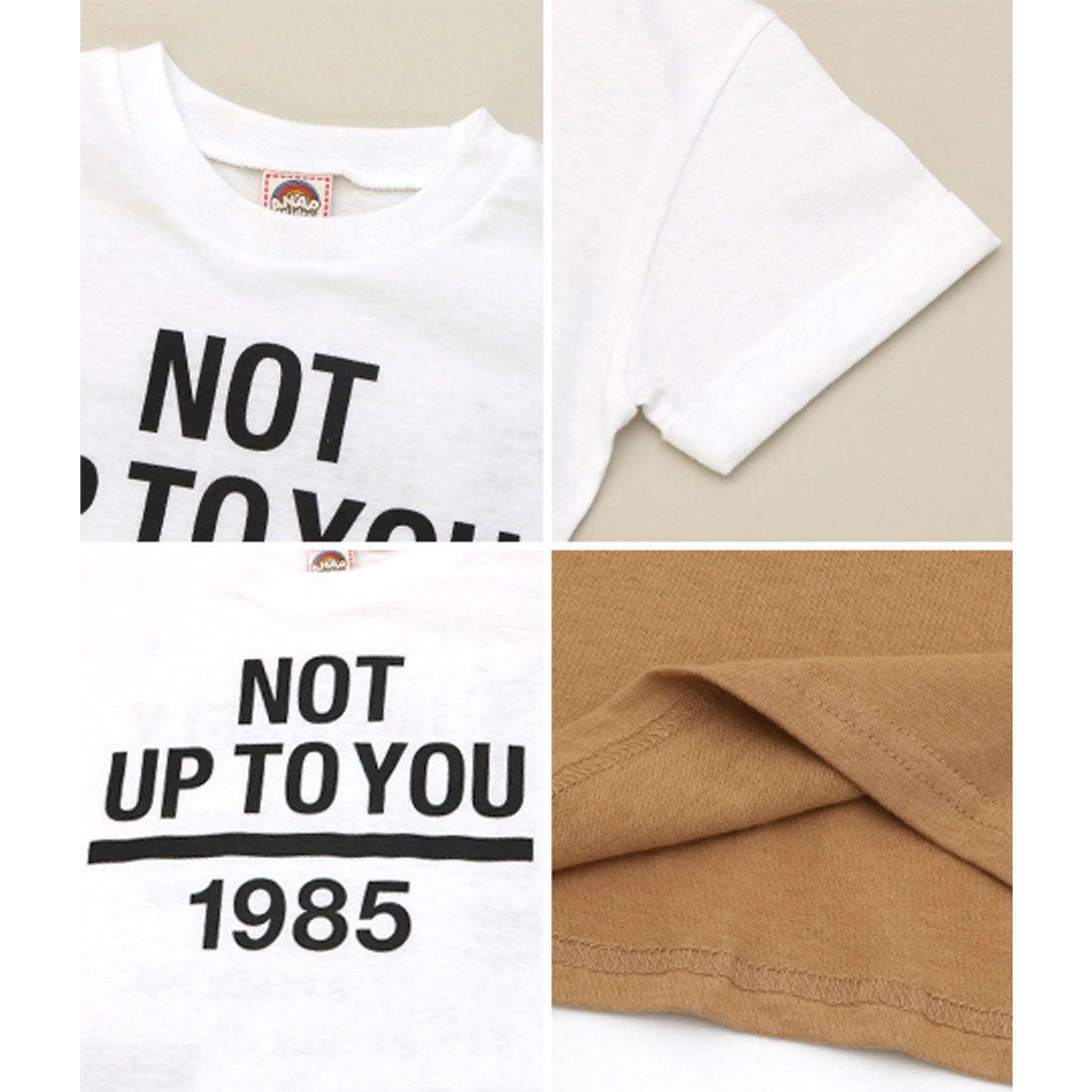 ロコンド 靴とファッションの通販サイトアナップキッズ ANAP KIDS ロールアッププリントBIG-Tシャツ (ホワイト)