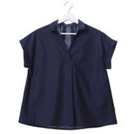 アウリィ AULI 3wayノースリシャツ (ネイビー)