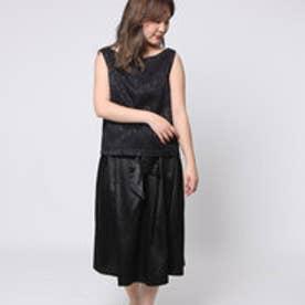 アウリィ AULI BL+タックリボンスカートセット (BK)