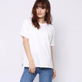 ファクターイコール Factor= 10番糸ポケ付ビッグTシャツ (WH)