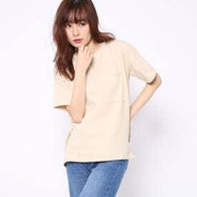 ファクターイコール Factor= 10番糸ポケ付ビッグTシャツ (BEG)