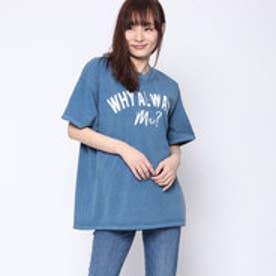 ファクターイコール Factor= ビッグロゴTシャツ (BL)