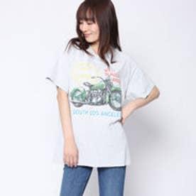 ファクターイコール Factor= ヴィンテージバイクTシャツ (GRY)