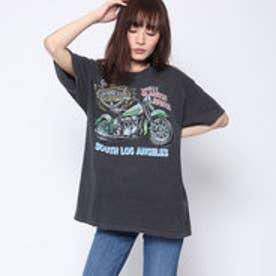 ファクターイコール Factor= ヴィンテージバイクTシャツ (BK)