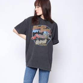 ファクターイコール Factor= アメ車プリントTシャツ (BK)