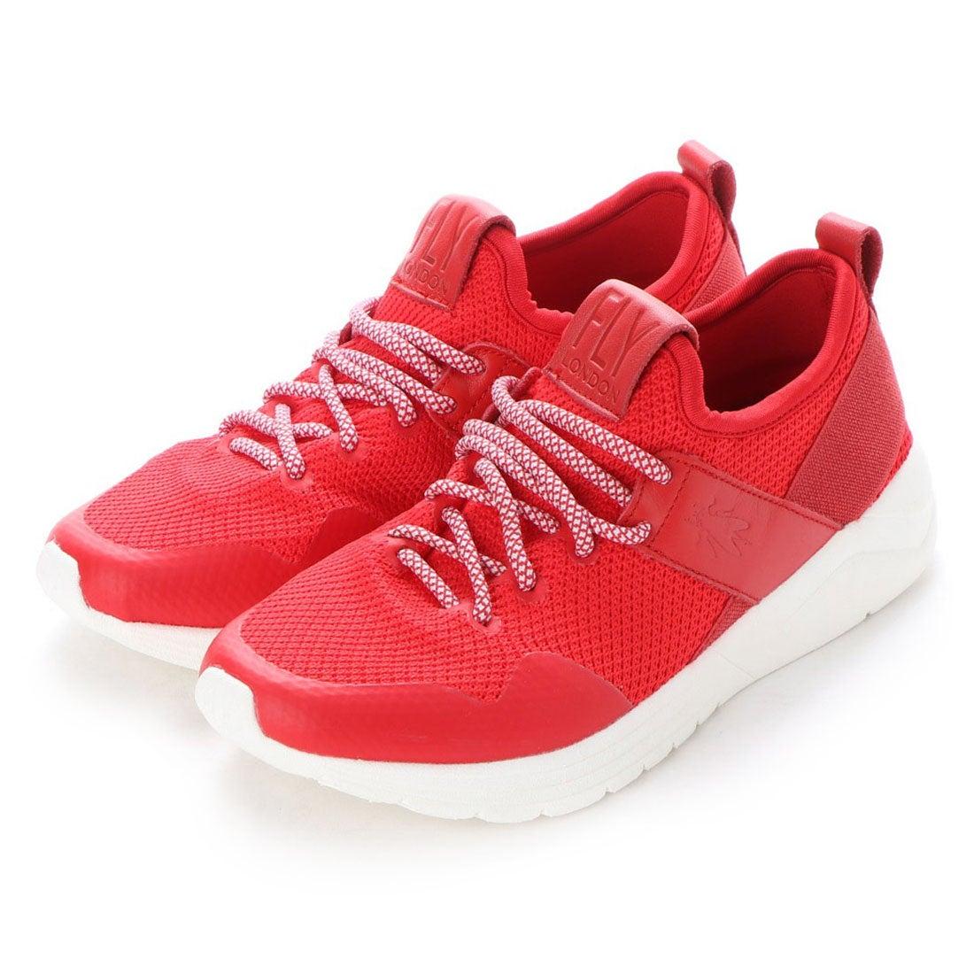 ヨーロッパコンフォートシューズ EU Comfort Shoes FLYLONDON スニーカー(143.825) (レッド)