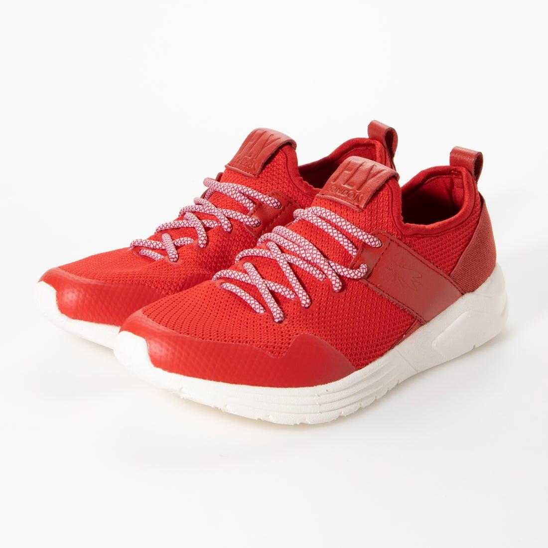 ヨーロッパコンフォートシューズ EU Comfort Shoes FLYLONDON スニーカー (レッド)