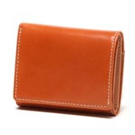 ブリティッシュグリーン BRITISH GREEN レザー胸ポケット財布(ブラウン)