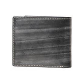 ゴルベ GORBE メトロポリタンブライドルレザー二つ折り財布 (ブラック)