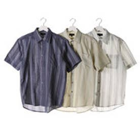 タクミ 匠 しじら織りレギュラーカラーシャツ3枚組(半袖) (マルチカラー)