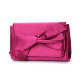 キュリビスキュイ CURI BISCUI サテンリボンクラッチ (Pink)