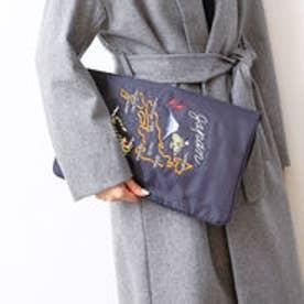 インターステイプル interstaple ★Casselini/スカジャン刺繍クラッチ (GRY)