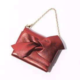 インターステイプル interstaple リボン三つ折り財布 (BRZ)