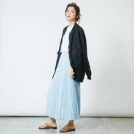 インターステイプル interstaple ★5P/リネンシャツジャケット (BLK)