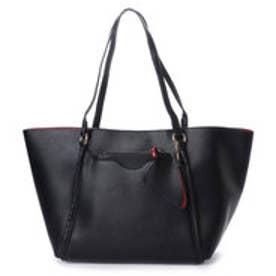 ピーシーティー P・C・T ポーチ付きバイカラー3wayトートバッグ (BLACK/RED)