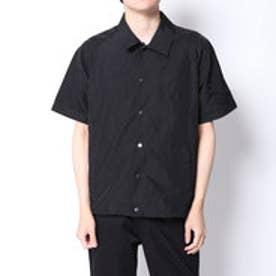イーブス サプライ YEVS supply ナイロンコーチJK風シャツ (ブラック)