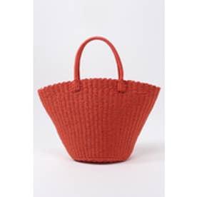 《6/30(金)までWEB限定価格》【AZUL by moussy】カラーBIGペーパートートバッグ RED