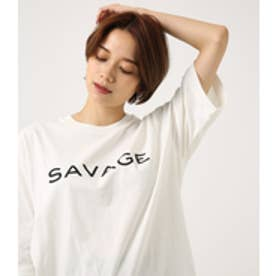 【AZUL BY MOUSSY】SAVAGE ルーズTEE WHT