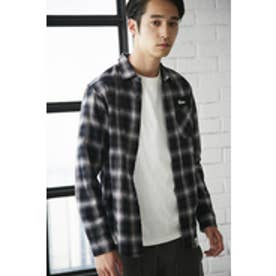 【AZUL BY MOUSSY】Shirring Check Shirt BLK