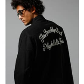 【AZUL BY MOUSSY】ネル起毛オックスバック刺繍長袖シャツ