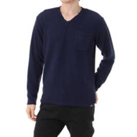 【AZUL BY MOUSSY】フクレ天竺Vネック長袖T NVY