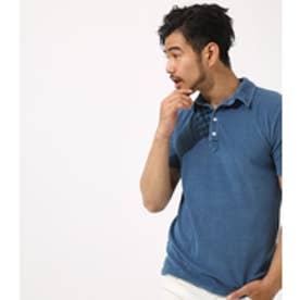 【AZUL BY MOUSSY】インディゴパイルポロシャツ BLU