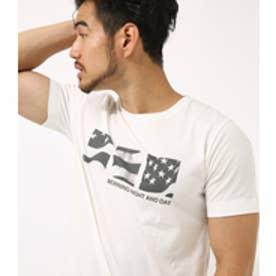 【AZUL BY MOUSSY】星条旗インクジェットクルーネック半袖T