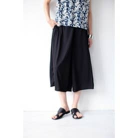 【AZUL by moussy】TR MVS天竺ラップ風ミディスカーチョ BLK