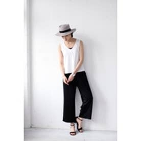 【AZUL by moussy】シルケットモダールスムースセットアップ 柄WHT