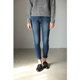 【AZUL by moussy】A Perfect Denim 3rd(吸湿発熱) NVY