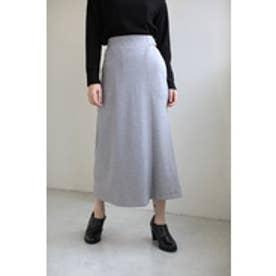 【AZUL by moussy】ソフトポンチラップスカート付ワイドパンツ T.GRY