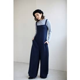 【AZUL by moussy】ワイドオールインワン NVY