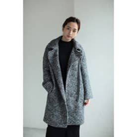 【AZUL by moussy】ライダースコート BLK