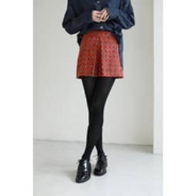 【AZUL BY MOUSSY】小紋柄キュロットパンツ 柄RED