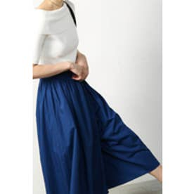 【AZUL by moussy】コットンワッシャースカーチョ NVY