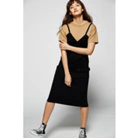 【AZUL BY MOUSSY】リブニットタイトスカートMOOK番号93066 BLK