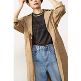 【AZUL by moussy】総レースロングコートMOOK番号93081 BEG