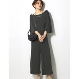 【AZUL by moussy】コアラ天竺コンビネゾン BLK